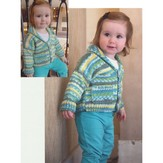 Plymouth Yarn 2864 Shawl Collar Baby Cardigan