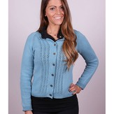 Plymouth Yarn 3006 Women's Raglan Cardigan