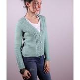 Plymouth Yarn 3011 Women's Cardigan