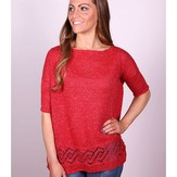Plymouth Yarn 3038 Women's Pullover