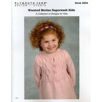 5004 Worsted Merino Superwash Kids Book