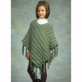 Plymouth Yarn P227 Children's Ponchos