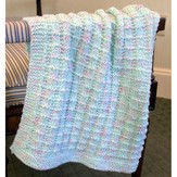 Plymouth Yarn F608 Baby Beenz Textured Blankie (Free)