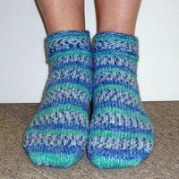 SFA-03 Encore Worsted Ladies Slipper Socks (Free)
