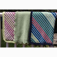 Stripe It or Not Baby Blanket