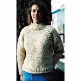 Knitting Pure & Simple 224 Weekend Neck Down Pullover