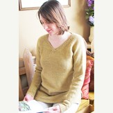 Knitting Pure & Simple 9726 Neckdown Pullover Tunic