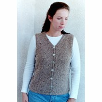 995 Basic Cardigan Vest For Women