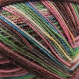 On-Line Supersocke100 4-Ply Rainbow Color