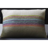 Bright Stripe Pillow (Free)