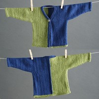Two Color Cardigan