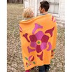 Spud & Chloë 9512 Flower Power Throw - 9512