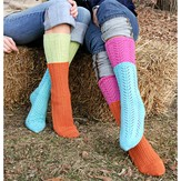 Spud & Chloë by Blue Sky Fibers 9806 Two-For-One Socks