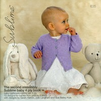 635 The Second Irresistibly Sublime baby 4 ply book
