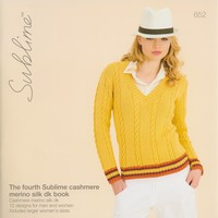 652 The Fourth Sublime Cashmere Merino Silk DK Book