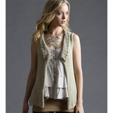 Tahki Yarns Mother's Day Ruffle-Collar Vest (Free)