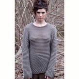 Stacy Charles Fine Yarns Billie Directional Pullover PDF