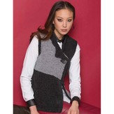 Stacy Charles Fine Yarns Chrissy One-Button Vest PDF