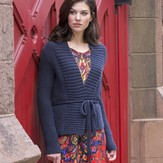 Stacy Charles Fine Yarns Beekman Place Cardigan PDF