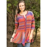 Universal Yarn Walking Bird Cardigan (Free)