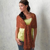 Valley Yarns 132 Rhea Lace Stole