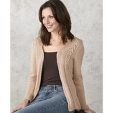 Valley Yarns 180 Radiance Cabled Jacket