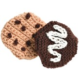 Valley Yarns 298 Crocheted or Knit Cookies (Free)