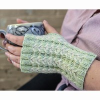 492 Orchid Mitts