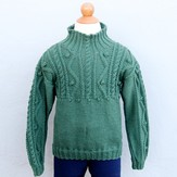 Valley Yarns 493 Child's Forest Pullover