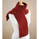 Valley Yarns 524 Cranberry Scarf (Free)