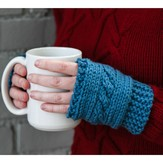 Valley Yarns 610 Cabled Hand Warmers (Free)