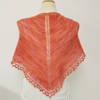 B6 Basic Triangle Shawl