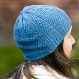 Valley Yarns 714 Oblique Hat