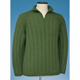 Vermont Fiber Designs 166 Top-Down Half-Zip Pullover PDF
