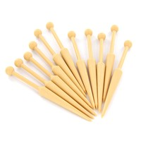 Small Styrene Tapestry Bobbins (pack of 12)