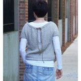Yarn and Soul Draw String Pullover (Free)